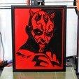 Télécharger fichier STL gratuit StarWars - Dark Maul • Design pour imprimante 3D, steve220