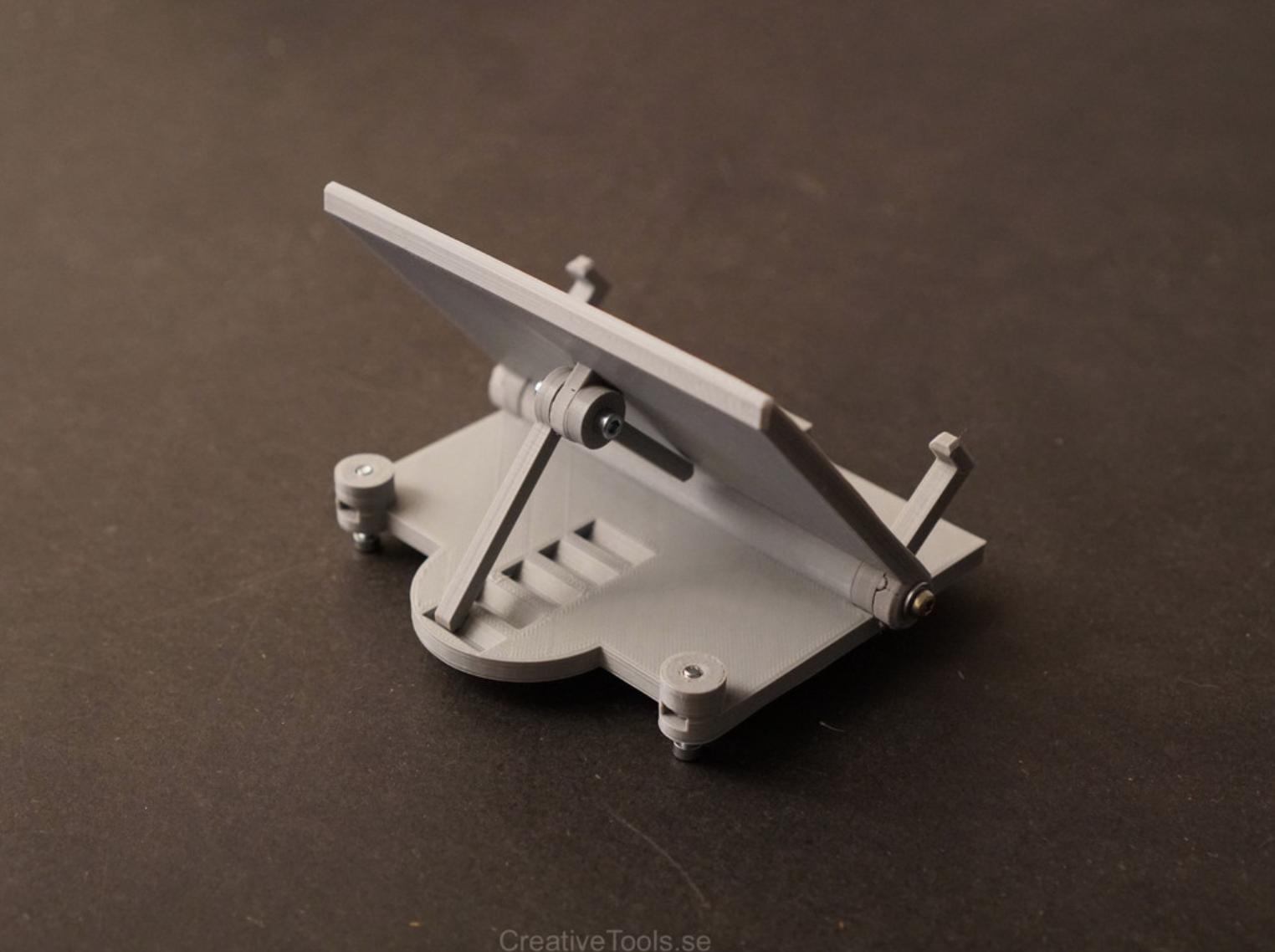 Capture d'écran 2018-01-31 à 18.05.51.png Download free STL file Smartphone Desktop Stand (adjustable angle) • 3D printer object, CreativeTools