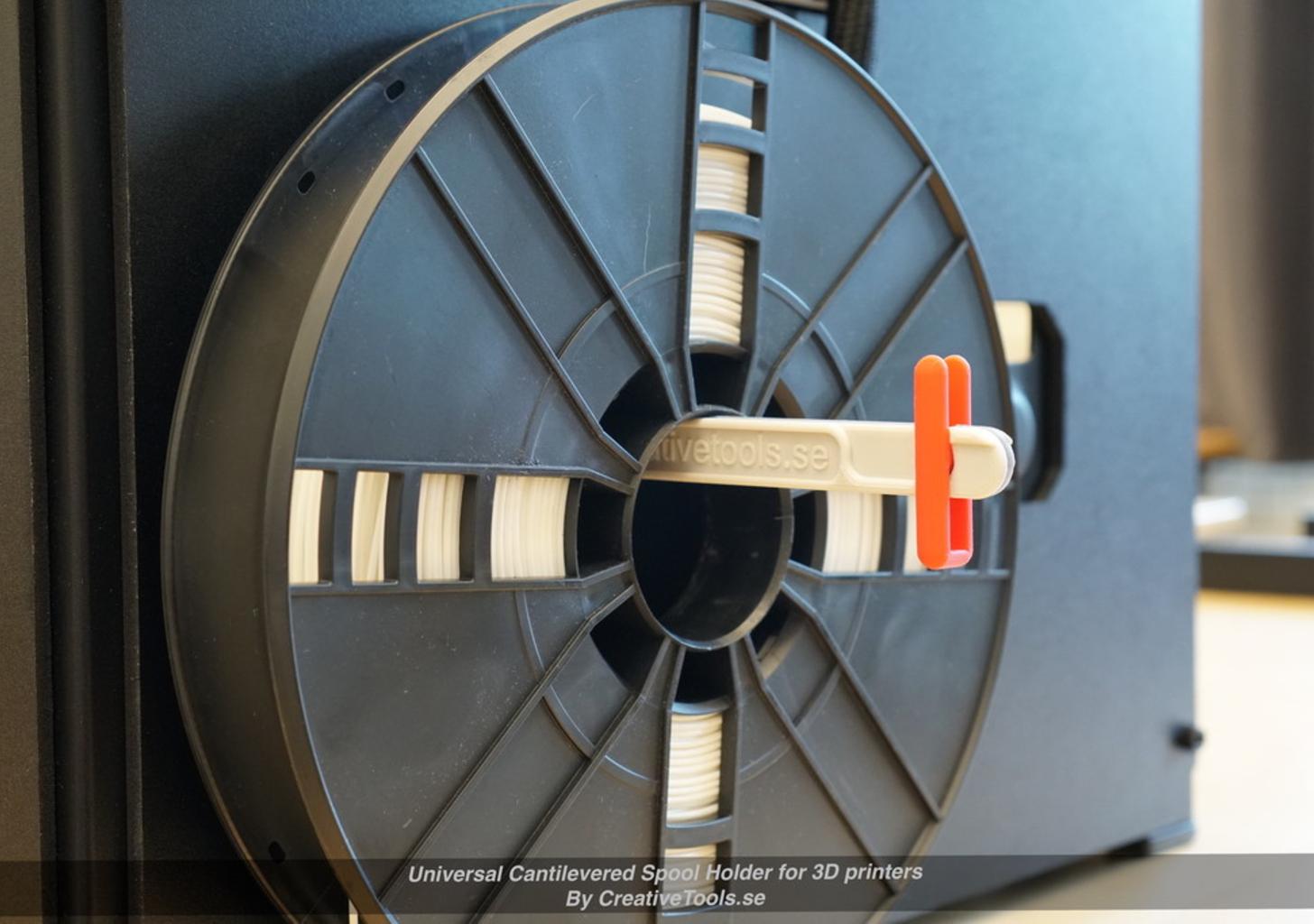 Capture d'écran 2017-05-09 à 09.46.17.png Download free STL file Universal Cantilevered Spool Holder for 3D printers • 3D printing design, CreativeTools