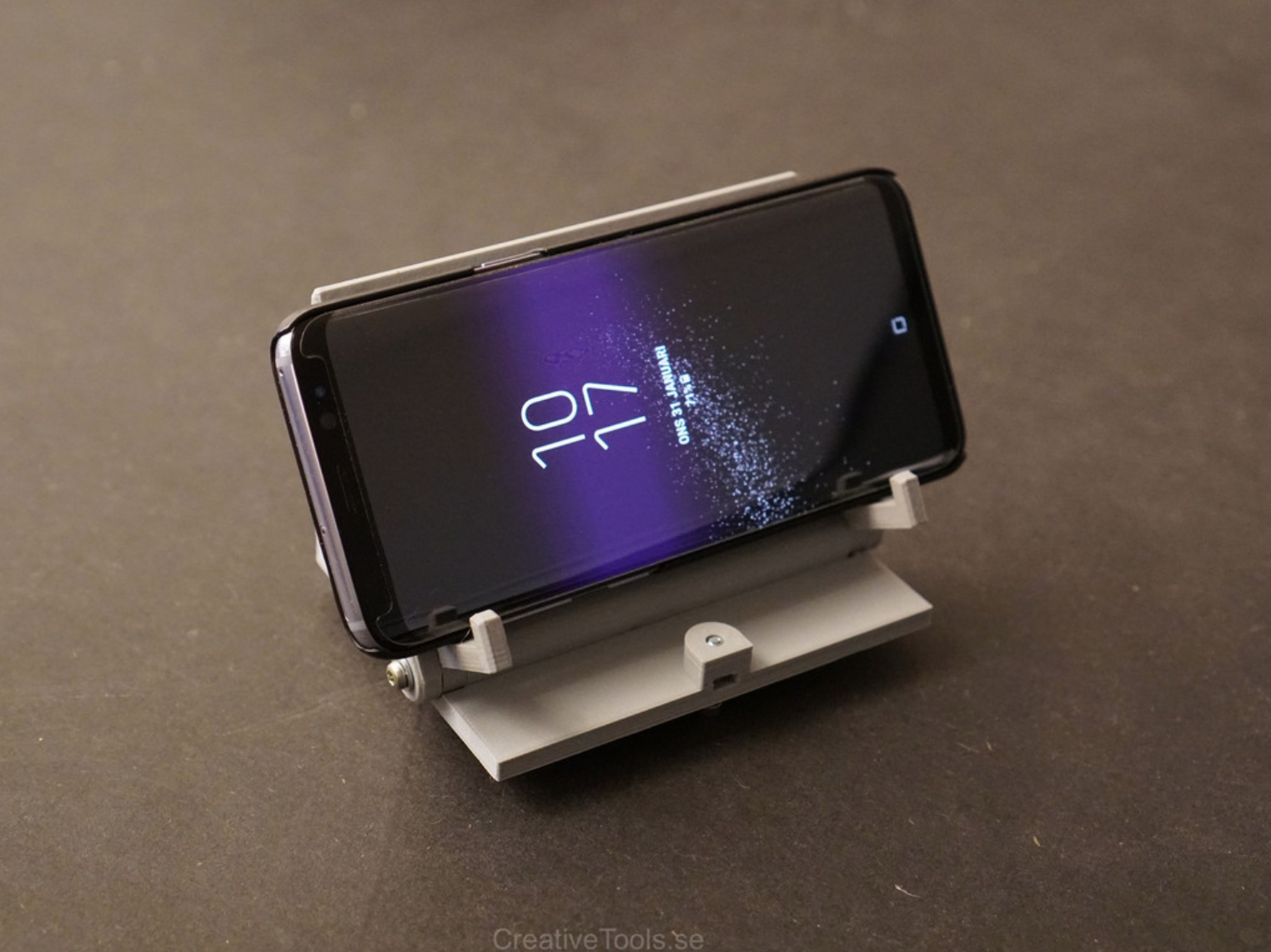 Capture d'écran 2018-01-31 à 18.05.41.png Download free STL file Smartphone Desktop Stand (adjustable angle) • 3D printer object, CreativeTools