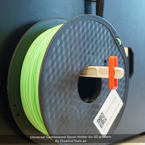 Capture d'écran 2017-05-09 à 09.46.21.png Download free STL file Universal Cantilevered Spool Holder for 3D printers • 3D printing design, CreativeTools