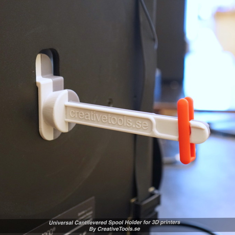 Capture d'écran 2017-05-09 à 09.45.08.png Download free STL file Universal Cantilevered Spool Holder for 3D printers • 3D printing design, CreativeTools