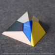 Download free STL file Voronoi Fracture Print-in-Place Pyramid Puzzle • 3D print object, CreativeTools