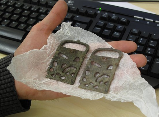 2.png Download free STL file 1000-year-old Viking belt buckle • 3D print model, CreativeTools