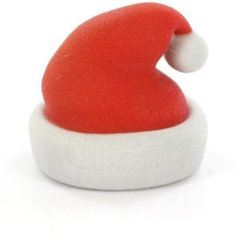 Impresiones 3D gratis Santa Claus' hat, CreativeTools