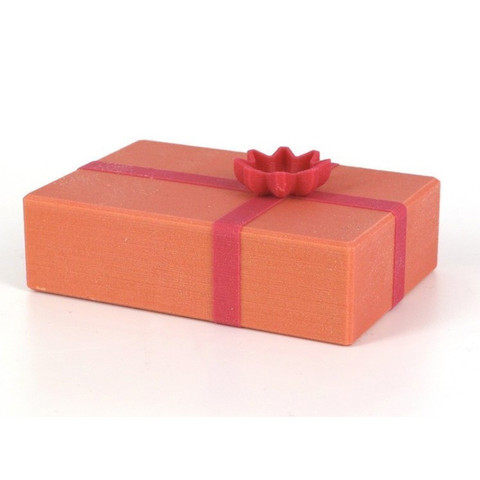 Free 3D printer files Xmas gift box, CreativeTools