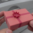 Download free 3D printing templates Xmas gift box, CreativeTools