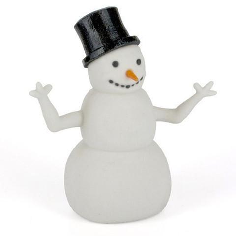 Download free 3D model A snowman, CreativeTools