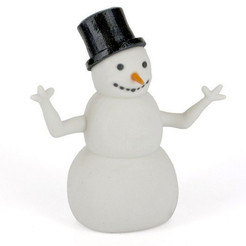 Free 3D printer file A snowman, CreativeTools