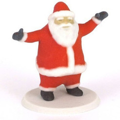 Download free STL files Santa Claus, CreativeTools