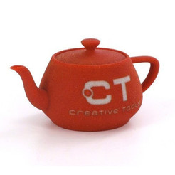Download free 3D printer designs Utah teapot, CreativeTools
