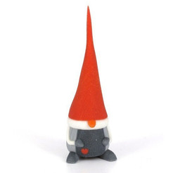 Free 3D print files Gnome, CreativeTools