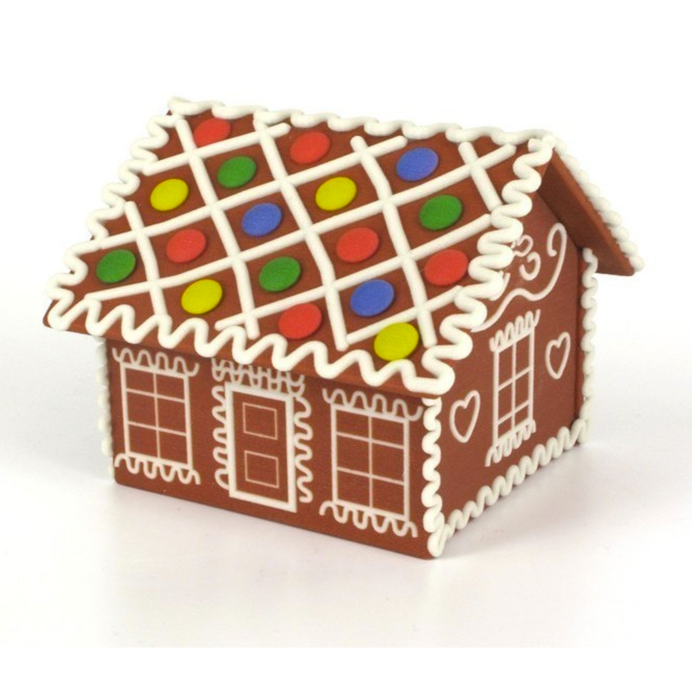 1.jpg Download free STL file Gingerbread house • Template to 3D print, CreativeTools
