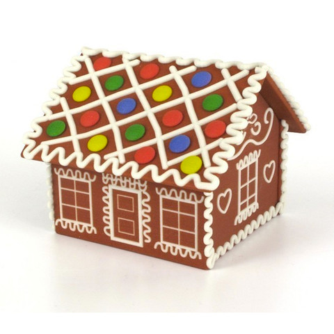 Free 3d print files Gingerbread house, CreativeTools