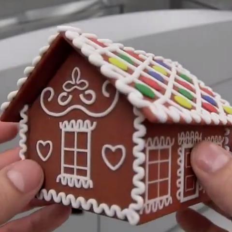 2.png Télécharger fichier STL gratuit Gingerbread house • Objet imprimable en 3D, CreativeTools