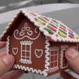2.png Download free STL file Gingerbread house • Template to 3D print, CreativeTools