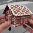 3.png Download free STL file Gingerbread house • Template to 3D print, CreativeTools