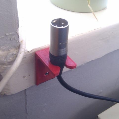 1.png Télécharger fichier STL gratuit Charge cable holder • Objet à imprimer en 3D, CreativeTools