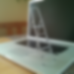 Ladder_assembled.stl Download free STL file 3D-printable scale model of a ladder • Model to 3D print, CreativeTools