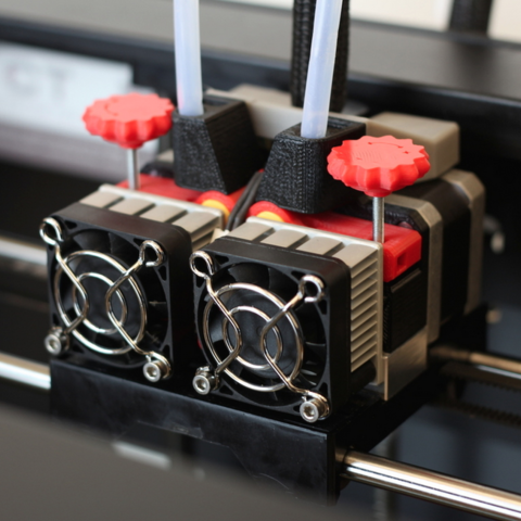 Free STL Adjustable Extruder Drive Block Upgrade for Replicator 2X, CreativeTools