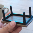 6.png Download free STL file 3D-printable coffee table (coaster) • 3D printer template, CreativeTools