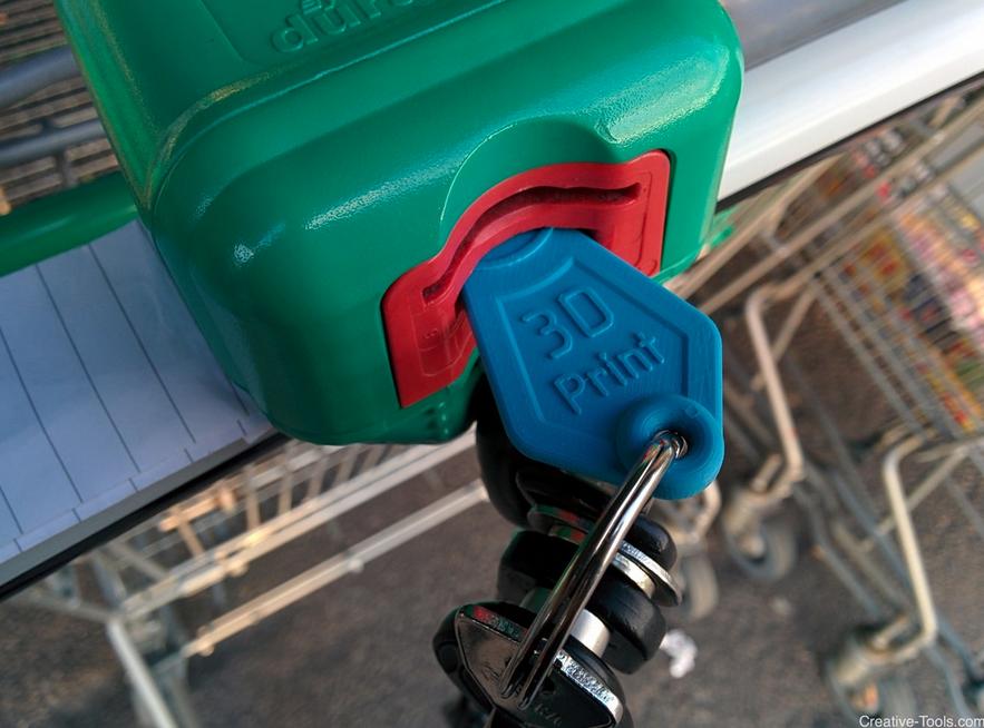 3.png Télécharger fichier STL gratuit Shopping Cart Token • Modèle à imprimer en 3D, CreativeTools
