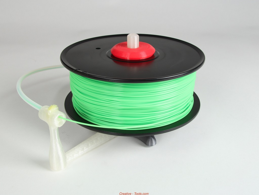 1.png Télécharger fichier STL gratuit Universal stand-alone filament spool holder (Fully 3D-printable) • Objet pour impression 3D, CreativeTools