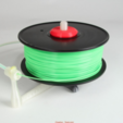 Download free 3D printing models Universal stand-alone filament spool holder (Fully 3D-printable), CreativeTools