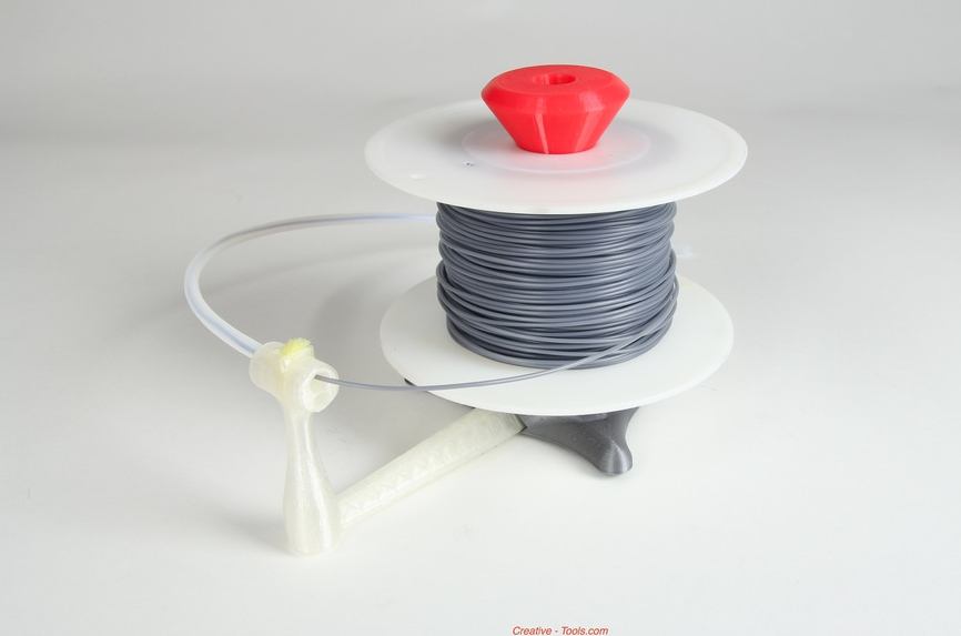 5.png Télécharger fichier STL gratuit Universal stand-alone filament spool holder (Fully 3D-printable) • Objet pour impression 3D, CreativeTools
