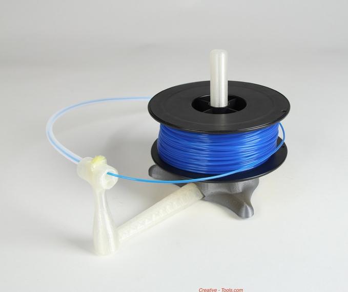 6.png Télécharger fichier STL gratuit Universal stand-alone filament spool holder (Fully 3D-printable) • Objet pour impression 3D, CreativeTools