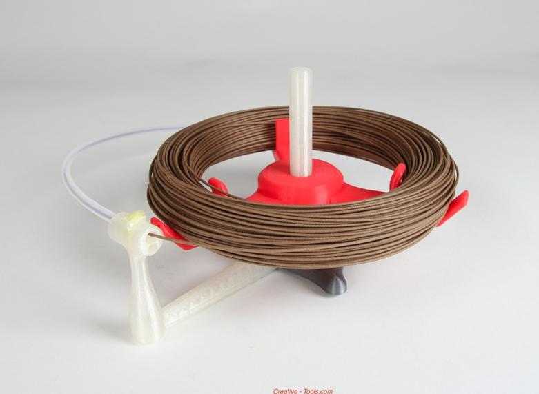 9.png Télécharger fichier STL gratuit Universal stand-alone filament spool holder (Fully 3D-printable) • Objet pour impression 3D, CreativeTools