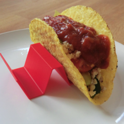 Free stl file Taco shell holder, CreativeTools