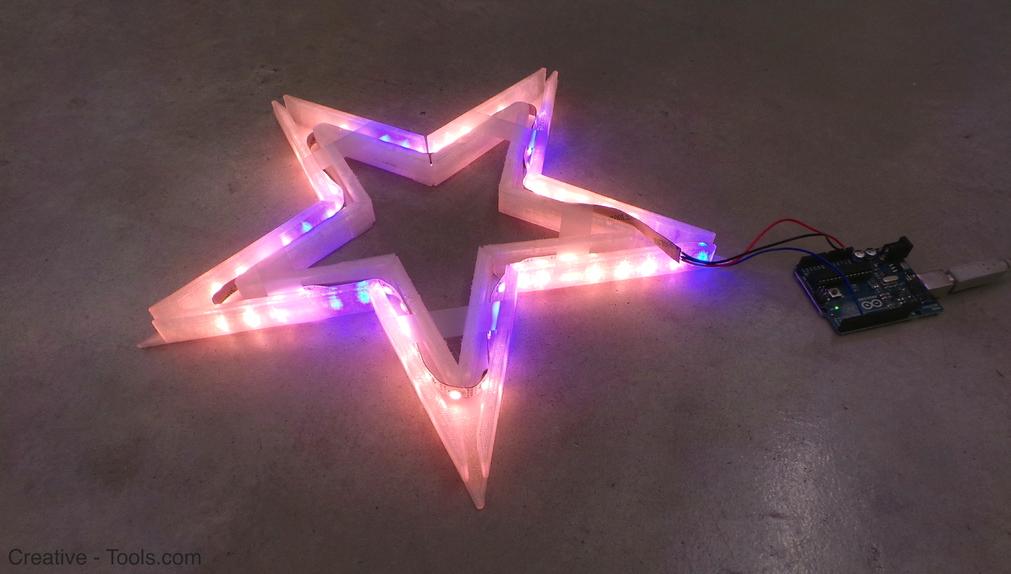 3.png Download free STL file Vega - The LED-lit Christmas Star • 3D print model, CreativeTools
