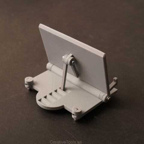 Capture d'écran 2018-01-31 à 18.05.45.png Download free STL file Smartphone Desktop Stand (adjustable angle) • 3D printer object, CreativeTools