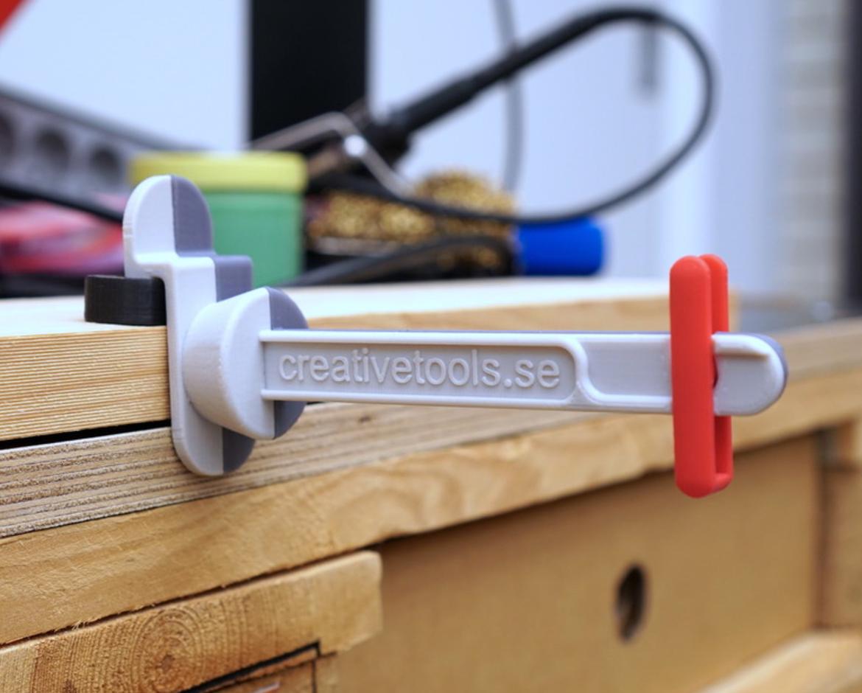 Capture d'écran 2017-05-09 à 09.46.07.png Download free STL file Universal Cantilevered Spool Holder for 3D printers • 3D printing design, CreativeTools
