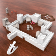 Download free STL file Modular Castle Playset (3D-printable) • 3D printable design, CreativeTools