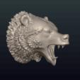 Télécharger STL Bear Head II, Skazok