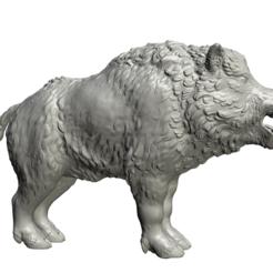 3D printer files Boar, Skazok