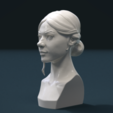 Girl_Head_Ix-0003.png Download 3DS file Girls Head • 3D print object, Skazok