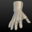 Hand-13.png Download 3DS file Hand • Object to 3D print, Skazok
