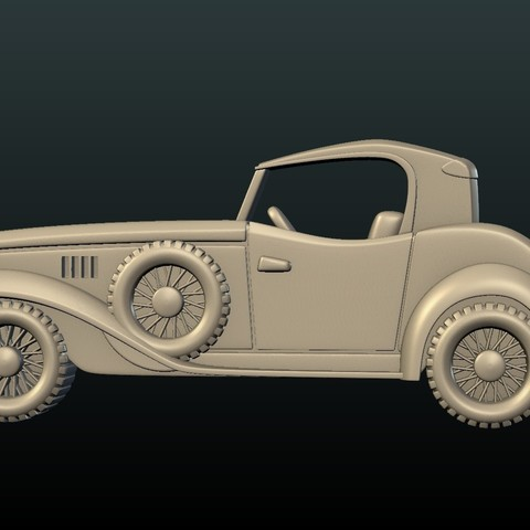 Car_box-06.jpg Download STL file Car Relief • Design to 3D print, Skazok