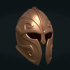 3D printer models Helmet, Skazok