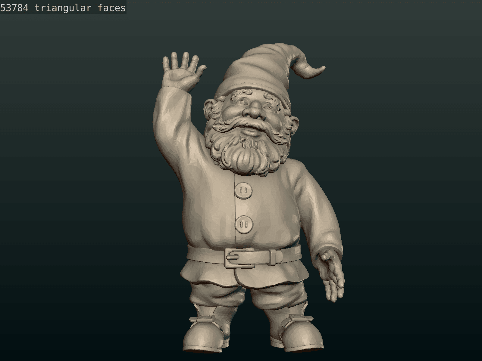Garden_Gnome-24.png Download STL file Garden Gnome • 3D printing design, Skazok