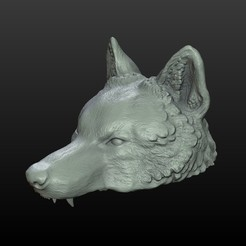 3D printer files Wolf Cap, Skazok