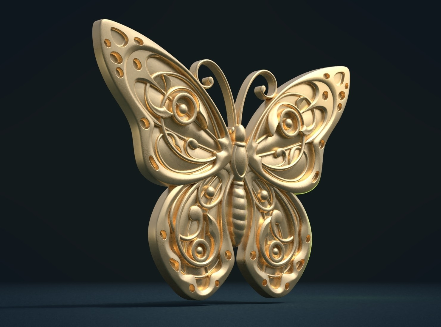 Butterfly_G_Cycles-0002.jpg Download STL file Butterfly relief • Model to 3D print, Skazok
