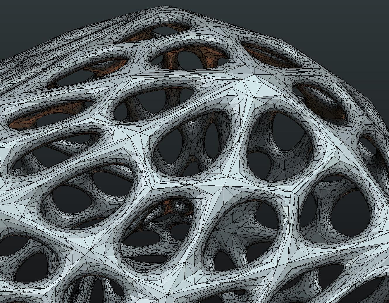 Mesh_Elephant-09.png Download STL file Mesh Elephant • 3D printer design, Skazok