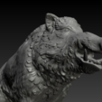 boar-02.png Download STL file Boar • 3D printable design, Skazok