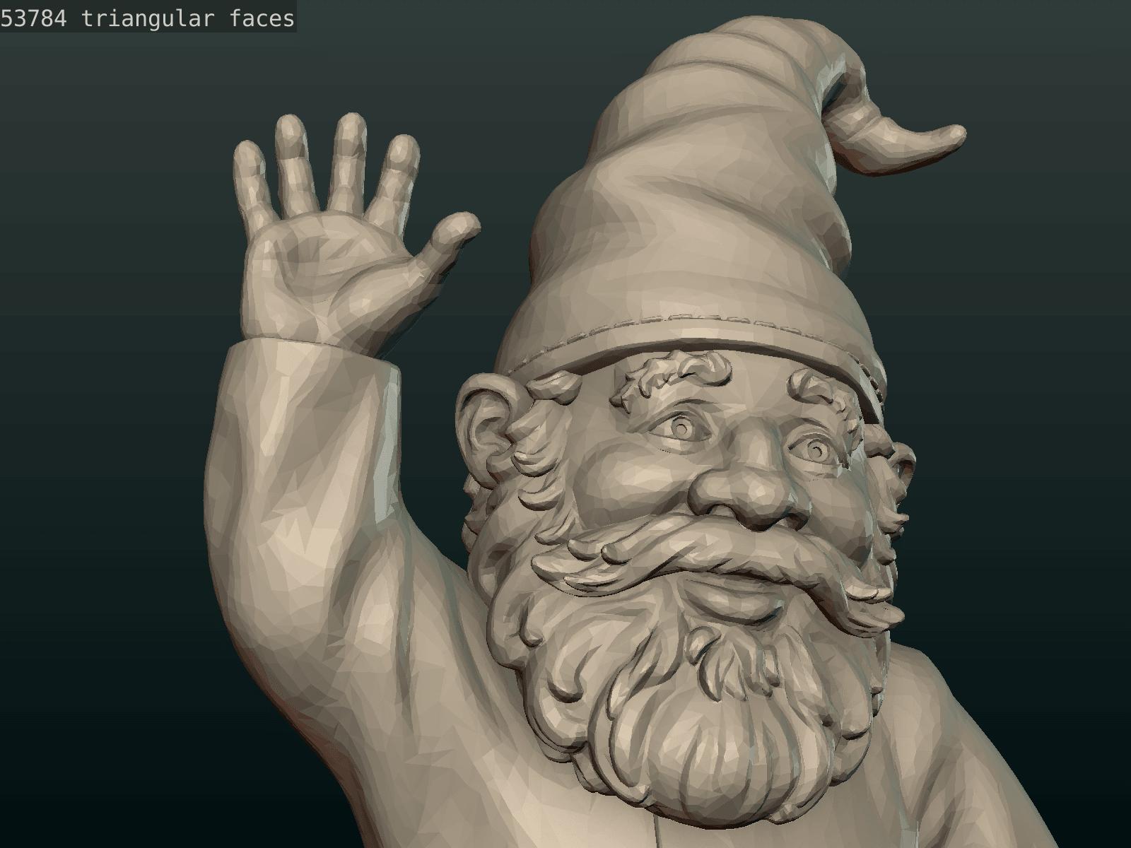 Garden_Gnome-25.png Download STL file Garden Gnome • 3D printing design, Skazok
