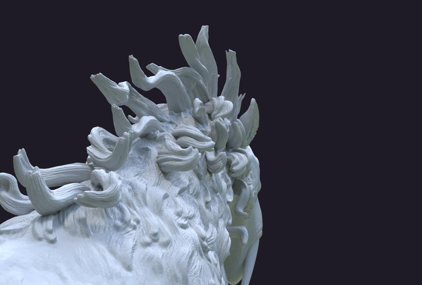 Fantasdy_beast-0009.png Download 3DS file Fantasy Beast • 3D printable template, Skazok
