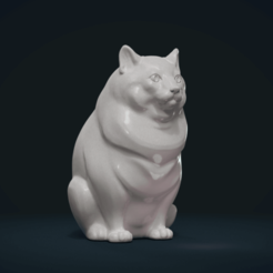 3D printing model Fat Cat, Skazok
